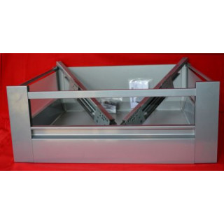 DBT Internal Pan Soft Close Kitchen Drawer Box- 350mm Deep x 224mm High x 400mm Wide