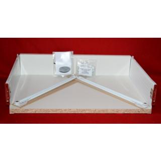 Standard Metal Sided Kitchen Drawer – 450mm D x 118mm H x 400mm W